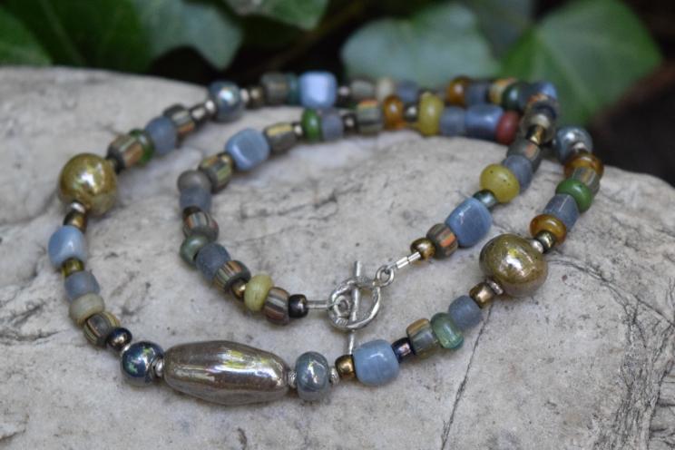Kazuri bead necklace, Pamba Toto 2016