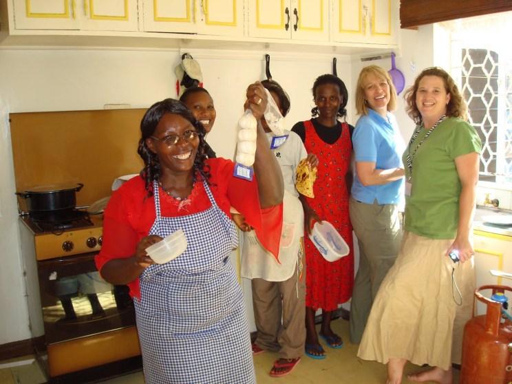 SoH 1 kitchen, staff & helpers, 2010