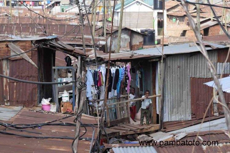 1 Kibera slum in Nairobi