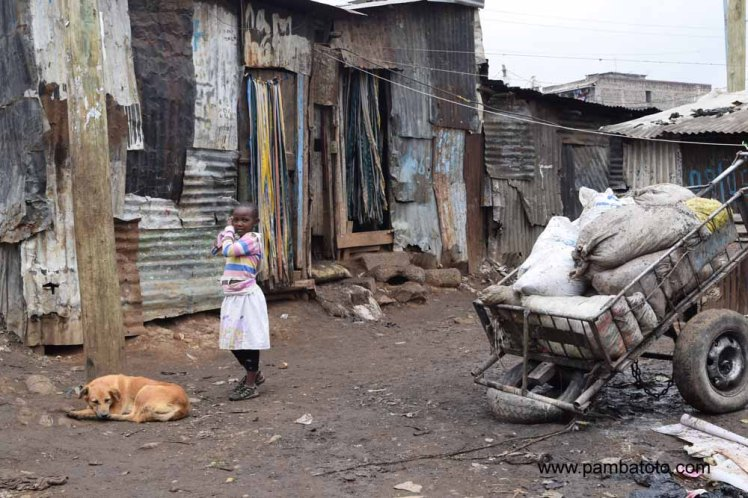 3 Mathare Valley slum